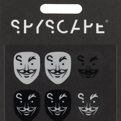 SPYSCAPE Hacker Face Phone Decal Set -
