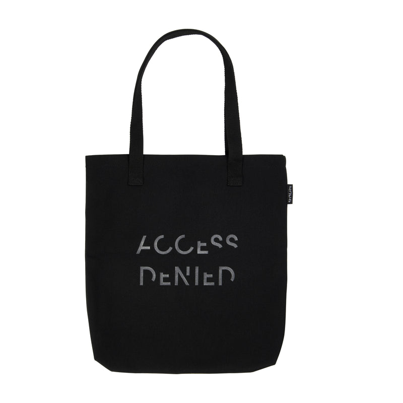 SPYSCAPE Hacker Tote Bag With RFID Blocking Zip Pocket