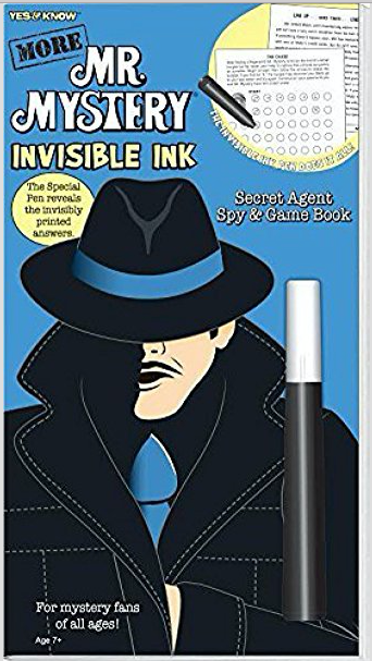 More: Mr. Mystery - Invisible Ink Secret Agent