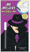 Mr. Mystery - Invisible Ink Secret Agent Spy & Game Book -