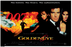 Goldeneye Postcard