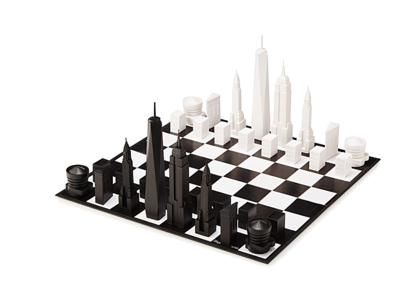 NYC Skyline Chess -