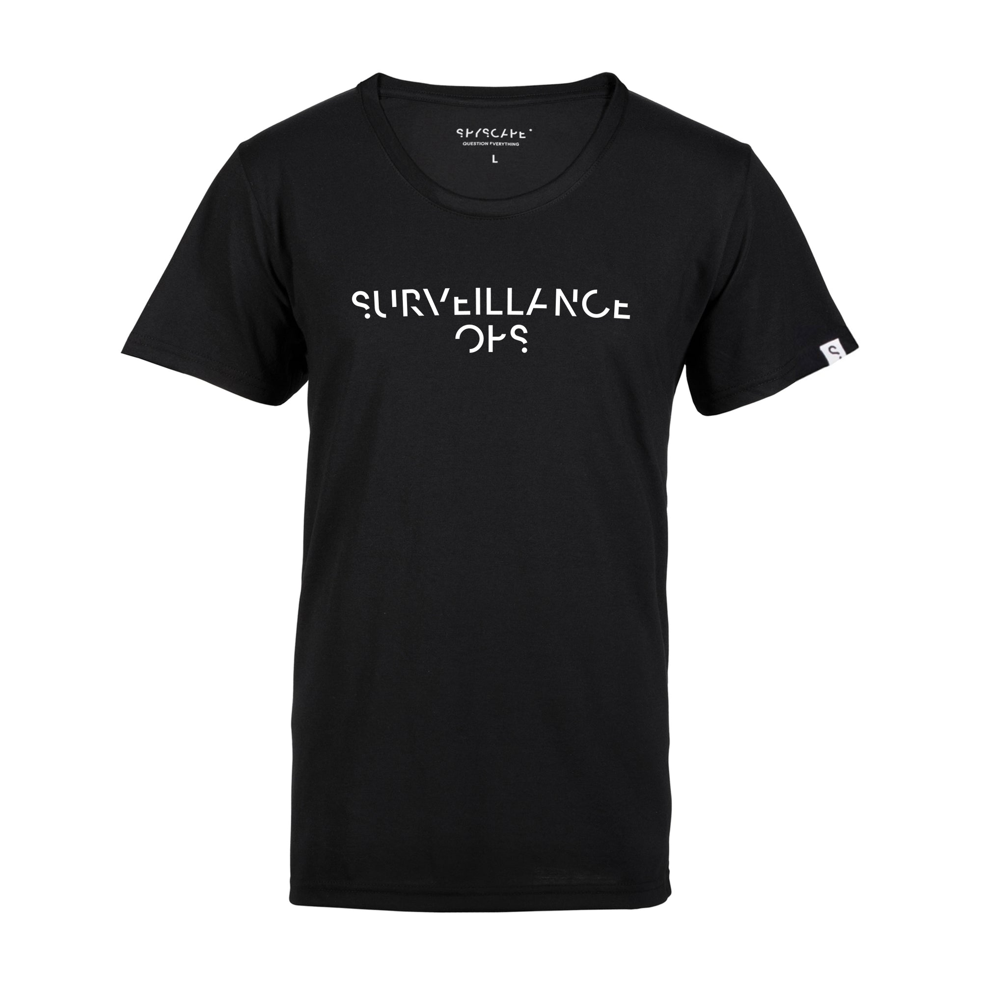 SPYSCAPE Surveillance Ops T-Shirt with Hidden Zip Pocket