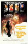 Man with the Golden Gun Poster -