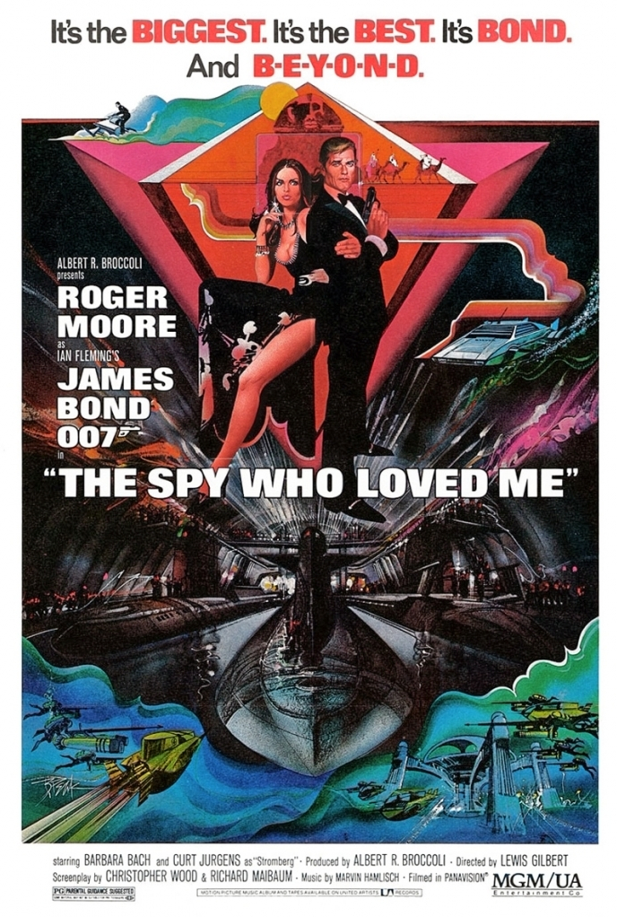 The Spy Who Loved Me Movie Poster - SPYSCAPE