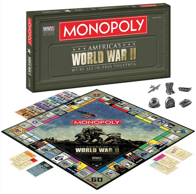 World War II Monopoly -