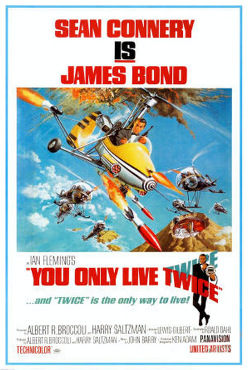 You Only Live Twice Movie Poster -