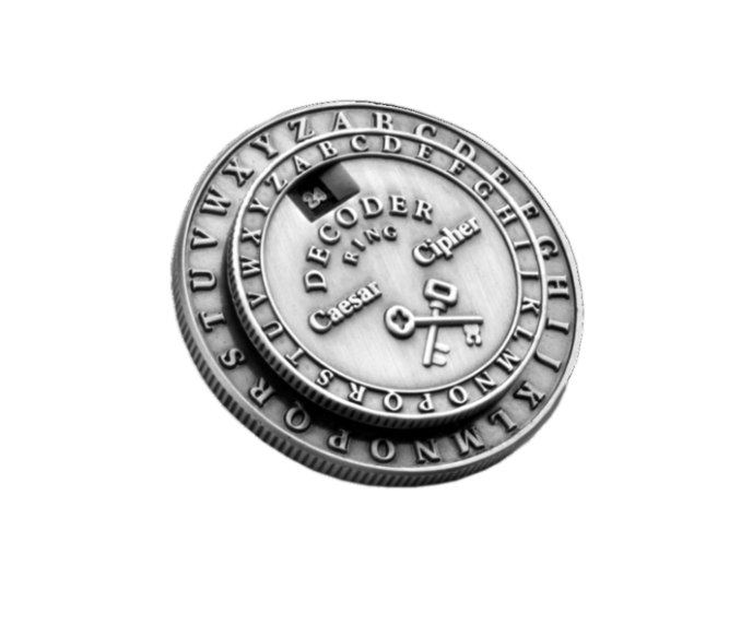 Cipher Medallion Decoder