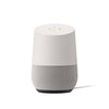 Google Home - Front view of white google home out of the box