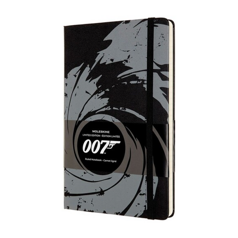 Moleskine Limited Edition James Bond Notebook - Black