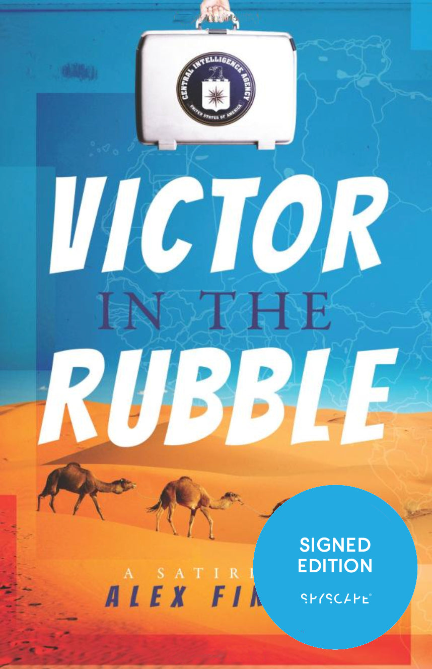 Victor in the Rubble - Signed First Edition