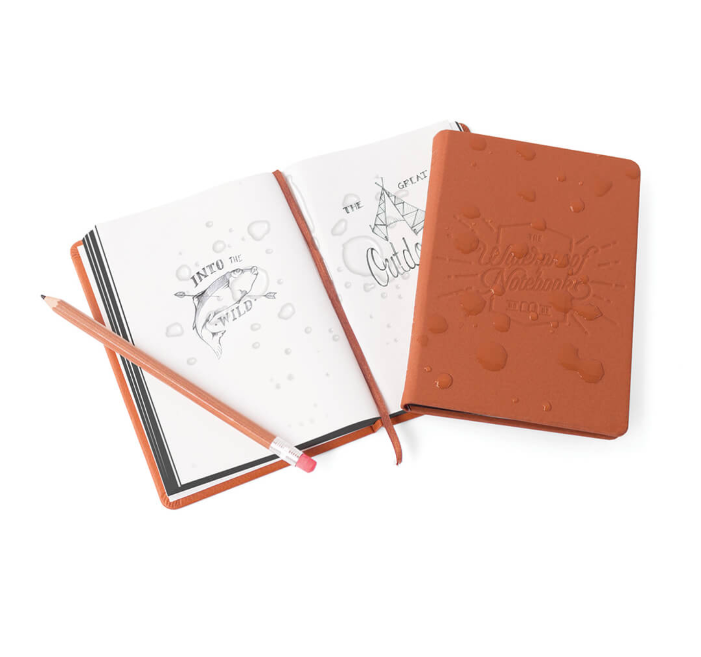 Waterproof notebook -