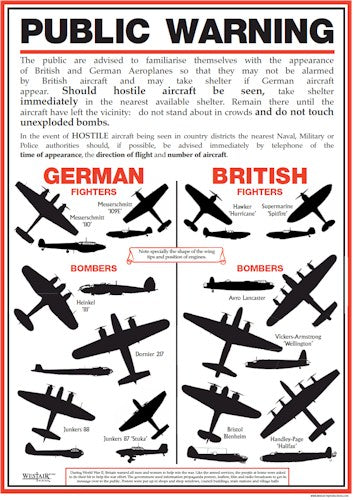 WWII Plane Poster