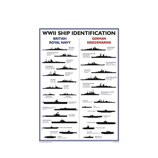 WWII Ship Poster