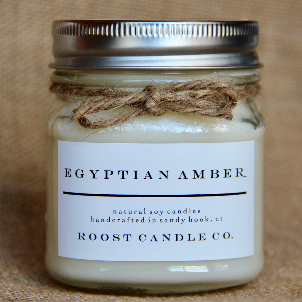 Egyptian Amber <br> Mason Jar Candle
