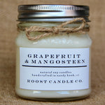 Grapefruit & Mangosteen <br> Mason Jar Candle