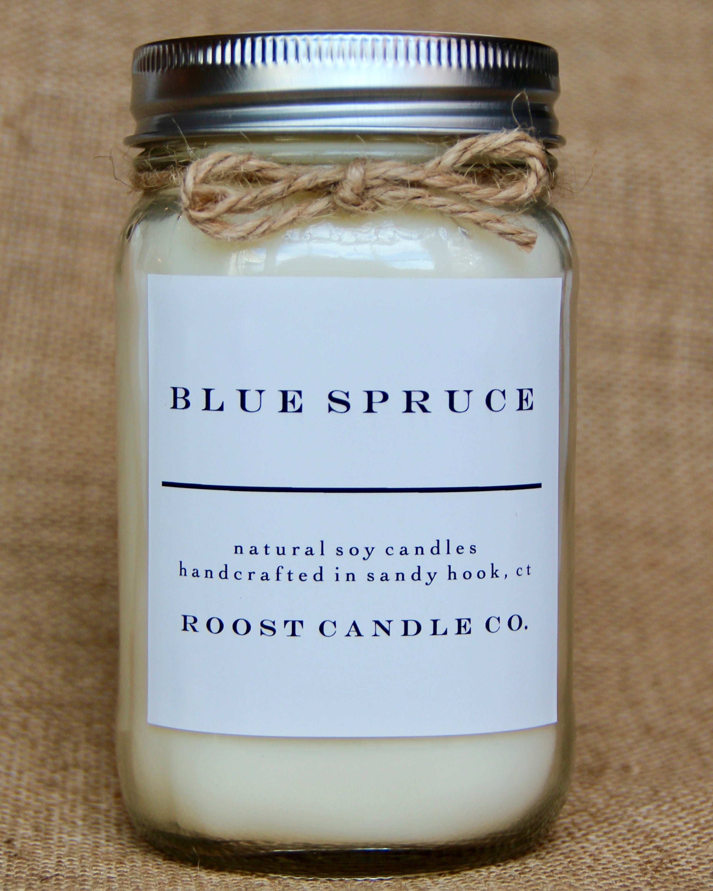 Blue Spruce <br> Mason Jar Candle