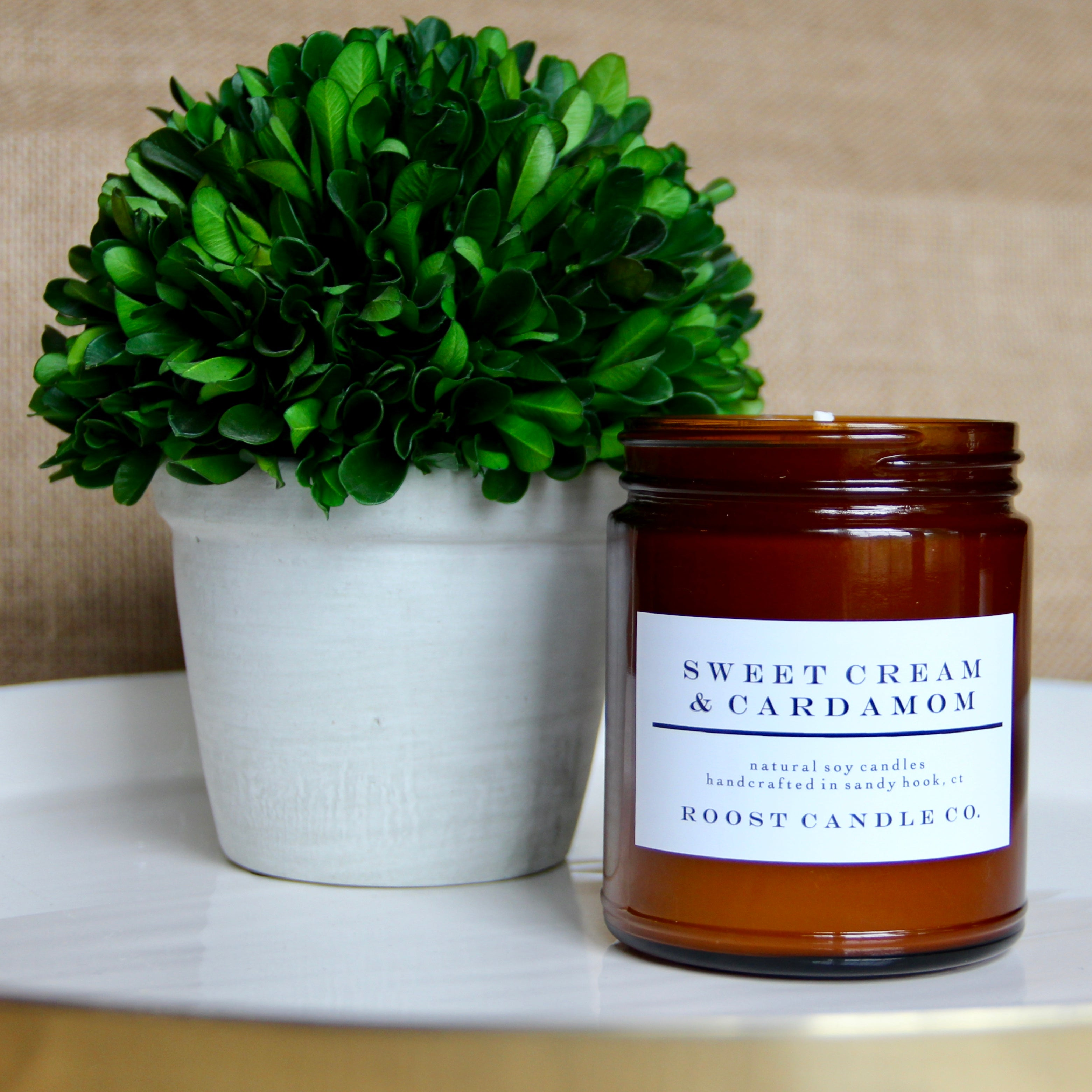 Sweet Cream & Cardamom <br> Apothecary Jar Candle