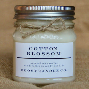 Cotton Blossom <br> Mason Jar Candle