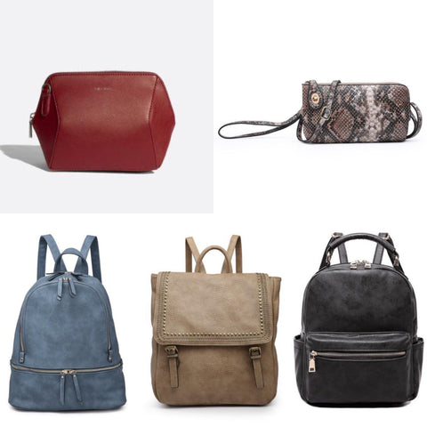 Handbags, Backpacks & Wallets