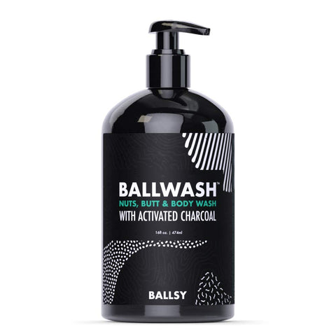 BALLSY BALLWASH NUTS,BUTT & BODY WASH X-LARGE
