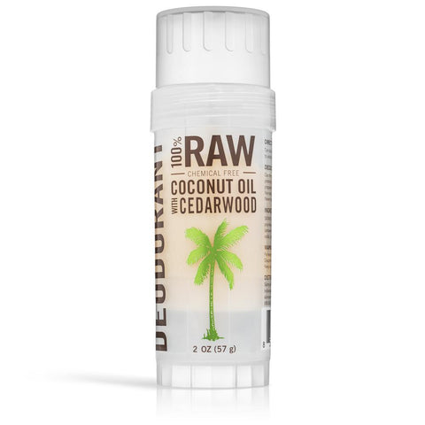SKINNY CO. RAW NATUAL DEODORANT-CEDARWOOD