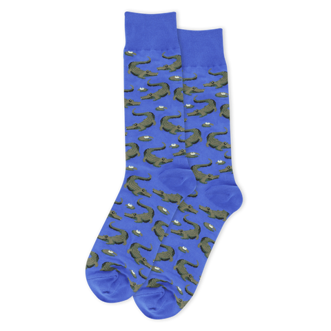 SOCKS-BLUE-ALLIGATOR