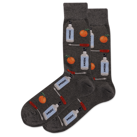 SOCKS-CHARCOAL VODKA