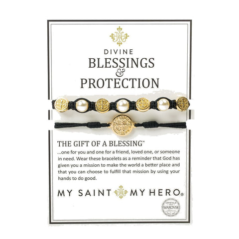 DIVINE BLESSINGS/PROTECTION-BLACK/GOLD