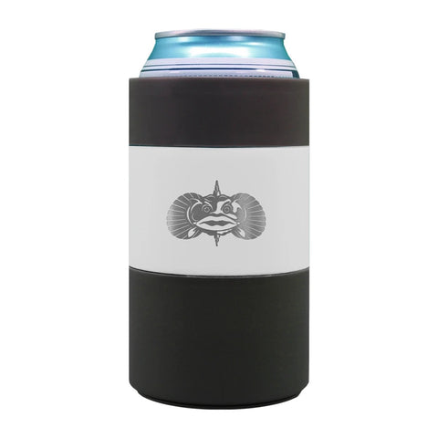 TOADFISH-NON TIPPING CAN COOLER -WHITE