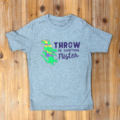 KIDS-THROW ME SOMETHING MISTER GREY T-SHIRT