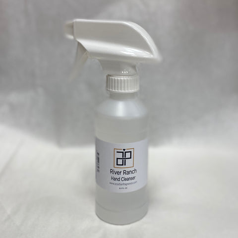 8OZ SPRAY HAND CLEANSER RIVER RANCH