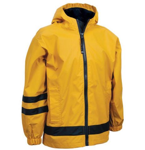 CHILDREN'S RAIN JACKET-YELLOW