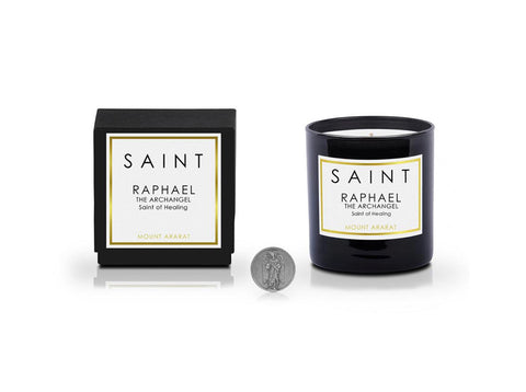 Saint Raphael the Archangel • Saint of Healing 11OZ CANDLE
