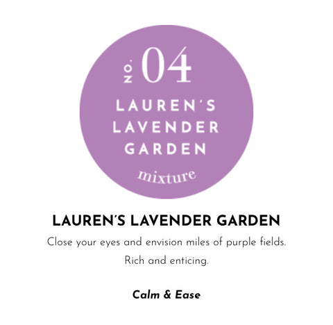 HARD SURFACE CLEANER-NO 04 LAUREN'S LAVENDAR GARDEN