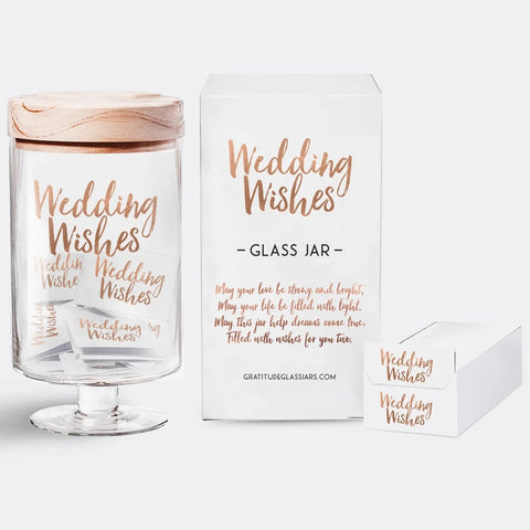GLASS JAR-WEDDING WISHES