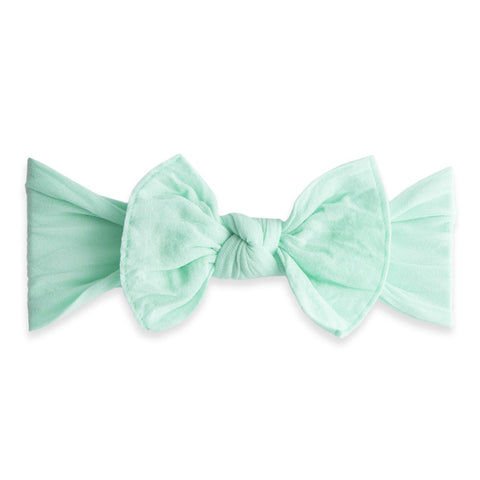 KNOT SOLID HEADBAND-MINT