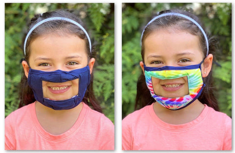 ✨PREORDER✨MASK-KIDS SMILE REVERSIBLE-ONE SIZE
