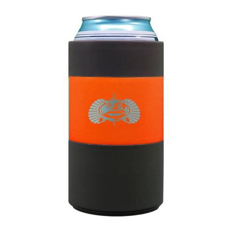 TOADFISH-NON TIPPING CAN COOLER -ORANGE