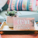 """GRACE & GRATITUDE"" INSPIRATIONAL QUOTE SWEET GRACE SACHET"