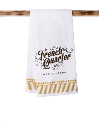 KITCHEN TOWEL: FRENCH QUARTER