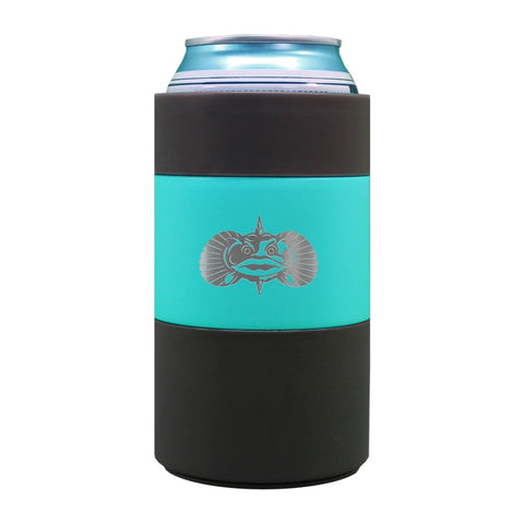 TOADFISH-NON TIPPING CAN COOLER -TEAL