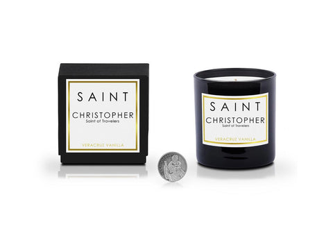 Saint Christopher • Saint of Travelers 11OZ CANDLE