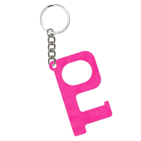 HANDS-FREE KEYCHAIN-HOT PINK