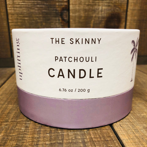 SKINNY COCONUT OIL BEESWAX CANDLE-PATCHOULI SPICE