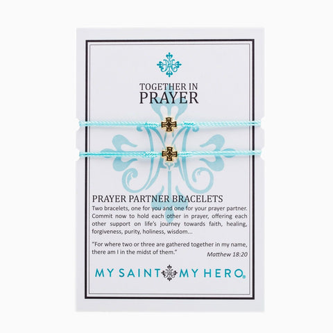 PRAYER PARTNER MINT/GOLD