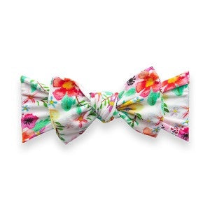 PRINTED HEADBAND-TROPICAL WATERCOLOR
