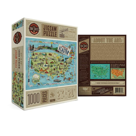 AMERICAN ROAD PUZZLES