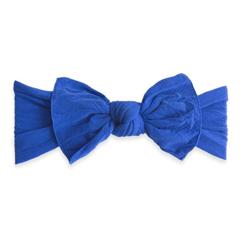 KNOT SOLID HEADBAND-ROYAL