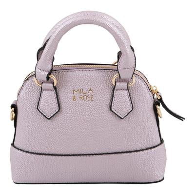 GIRL'S PURSE-LAVENDER METALLIC